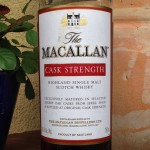 Macallan Cask Strength Review