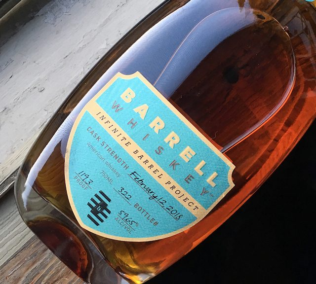 Barrell Whiskey Infinite Barrel
